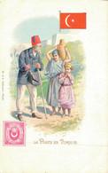 H1009 - La Poste En Turquie - Timbres (représentations)