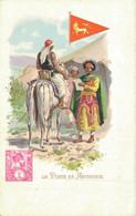 H1009 - La Poste En Abyssinie - Timbres (représentations)