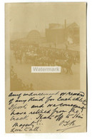 London, Royal Visit? Horse Carriage, Sign For Big Tree Wharf - 1907 Real Photo Postcard - Altri