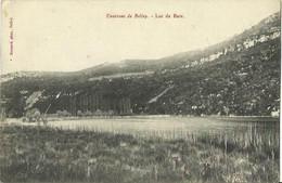 CPA Des Environs De Belley - Lac De Bare. - Unclassified