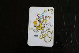 Joker -Playcards/Carte A Jouer / 1 Dos De Cartes Avec Publicité/the World Joker-Marsupilami - Franquin Spirou - Autres