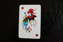 Joker-Playcards/Carte A Jouer/ 1 Dos De Cartes Avec Publicité / Joker - The World Joker - Vin Tonneau Des Moines - Autres