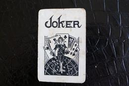 Joker-Playcards/Carte A Jouer/ 1 Dos De Cartes Avec Publicité / Joker - The World Joker - Liège Chaussures E. Radelet - Autres