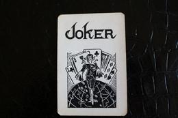Joker- Playcards The World Joker / Carte A Jouer/ 1 Dos De Cartes Avec Publicité / Old Brandy Fine St Cyr - Autres