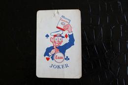 Joker- Playcards The World Joker / Carte A Jouer/ 1 Dos De Cartes Avec Publicité / Esso Essolube - Autres