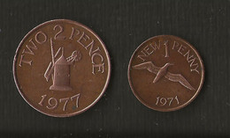 Monnaie > Guernesey  > 2 Two Pence 1977 > 1 New Penny 1971 - Guernsey