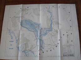 Carte Topographique Cambodge TFEO - Indochine. - Documenti