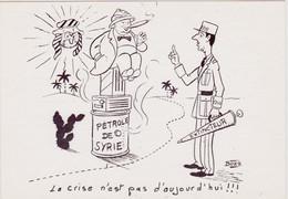 ALBI - 1er Festival Régional De L'Image (17, 18 Et 19 Avril 1981) - Dessin De BOZZ  ( De Gaulle & Churchill ) - Beursen Voor Verzamellars