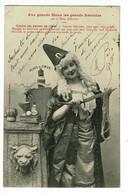 Aux Grands Maux Les Grands Remèdes Par La Petite Albertine - Contre Les Peines De Coeur (satanisme) Circulé 1903 - Gesundheit