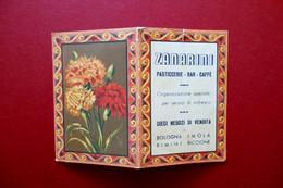 Calendarietto Zanarini Pasticceria Bar Rimini Bologna Imola Riccione 1941 - Unclassified