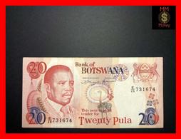 "BOTSWANA 20 Pula 1992   P.  13  ""sig. Mogae - Hermans""   Printer Harrison   VF - Botswana"