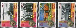 2012 Tristan Da Cunha Volcano Series Geology Complete Set Of 4 MNH - Tristan Da Cunha