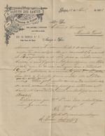Gaia - Porto - Factura De 1905 Do Armazém De Vinhos A. Pereira Dos Santos - Portugal - Portugal
