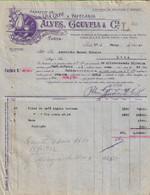 Porto - Factura De 1922 Do Armazém De Chá, Café E Papelaria Alves Gouveia & Cª - Portugal - Portugal