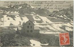 CPA Du Briançonnais - Refuge Et Route Du Col D'Izoard. - Unclassified
