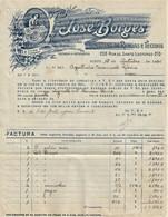 Porto - Factura De 1934 Dos Armazéns De Rendas E Tecidos José Borges - Publicidade - Portugal - Portugal
