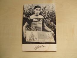 Carte Publicitaire Ancienne EDDY MERCKX - Ciclismo