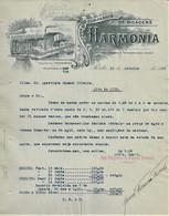 Porto - Factura De 1919 Da Companhia De Moagens Harmonia - Publicidade - Portugal - Portugal