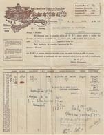 S. João Da Madeira - Factura De 1940 De Nicolau Da Costa - Fábrica De Chapéus - Portugal - Portugal
