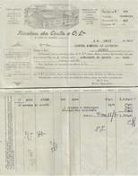 S. João Da Madeira - Factura De 1947 De Nicolau Da Costa - Fábrica De Chapéus - Portugal - Portugal