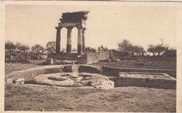 9412) AGRIGENTO - Tempio Dei DIOSCURI Ed Are Archaiche OLD !! - Agrigento
