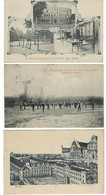 PAYS-BAS- 5 CARTES RARE / TRES RARE- JEU EXEPT -SITTARD- Baziliek / Postkantoor / St Aloysiuskolleg - Entre 1900-1907 - Sittard
