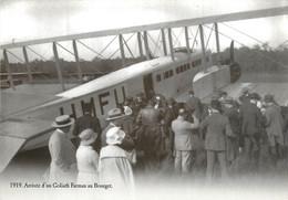 CPSM Arrivée D'un Goliath Farman Au Bourget   L919 - Inaugurazioni