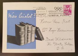 """Österreich 1936, Werbe Postkarte """"METUVIT"""" Wien - Covers & Documents"""