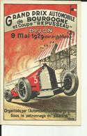 21 - Cote D'Or - Dijon - Grand Prix Automobile De Bourgogne - 09 Mai 1929 - - Dijon