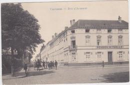 Vilvoorde -D'Aubreméstraat - Familiepension (Decrée) (gelopen Kaart Met Zegel) - Vilvoorde