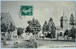 Jura 39 - CENSEAU -  La Poste Et La Mairie ( N°5 édition Royet ) - Other Municipalities