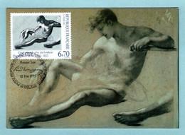 Carte Maximum 1995 - Pierre Prud'hon - Etude Pour Le Rêve Du Bonheur - YT 2927 - 31 Toulouse - 1990-99