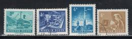 HU 1973 MI 2834-37 USED - Usati