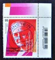 "Bund/BRD September 2021 Sondermarke ""150. Geburtstag H..Wegscheider"" MiNr 3625, Ecke 2, Ersttagsgestempelt - Gebruikt"