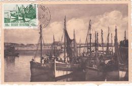 Carte Maximum Bateau Ship  Belgique - 1951-1960