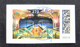 "Bund/BRD September 2021,  Skl  Sondermarke ""U-Bahnstation Westend"",  MiNr 3629 Aus FB 109, Ersttagsgestempelt - Gebruikt"