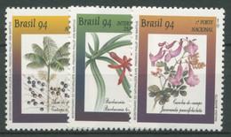 Brasilien 1994 Schutz Der Flora Botaniker V. Martius 2580/82 Postfrisch - Unused Stamps