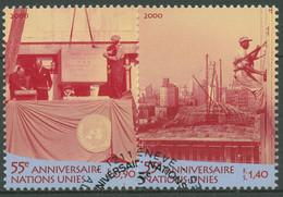 UNO Genf 2000 UNO-Hauptquartier New York 391/92 Gestempelt - Gebraucht