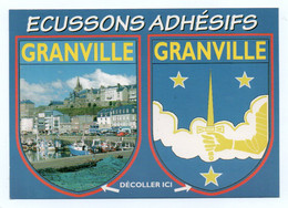 CP Adhesif 396, Blason Adhésif Emy EC 12601, 50 Granville - Granville