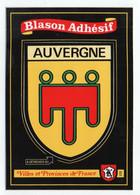 CP Adhesif 337, Blason Adhésif Kroma 205, Province Auvergne - Auvergne