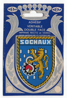 CP Adhesif 323, Blason Adhésif Double Face NEM, 25 Sochaux - Sochaux