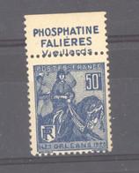France  :   Yv  257a  **  Pub :  Phosphatine Falières - Nuovi