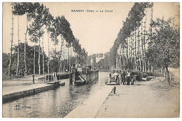 BANNAY - Le Canal - PENICHE - Unclassified