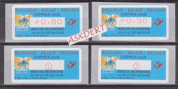 Beigie ATM 121**  Smurfen / Schtroumpfs - Automatenmarken (ATM)