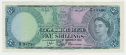 Fiji 5 Shillings 1962 AXF+ Pick 51c  51 C - Fidschi