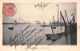 76 - LE HAVRE - Entrée Du Port - Port