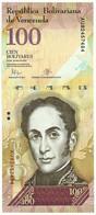 Venezuela - 100 Bolívares - 23.06.2015 - Pick 93.i - Unc. - Serie AU - Simon Bolivar - Venezuela