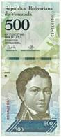Venezuela - 500 Bolívares - 23.03.2017 - Pick 94.b - Unc. - Serie U - Francisco De Miranda - Venezuela