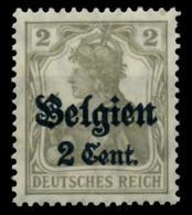 BES 1WK LP BELGIEN Nr 10 Postfrisch X6DCD86 - Ocupación 1914 – 18