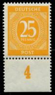 KONTROLLRAT ZIFFERN Nr 927 Postfrisch URA X8241DA - Zona AAS